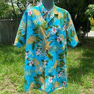 Paradise Styles Hawaii Button down Shirt Size XL